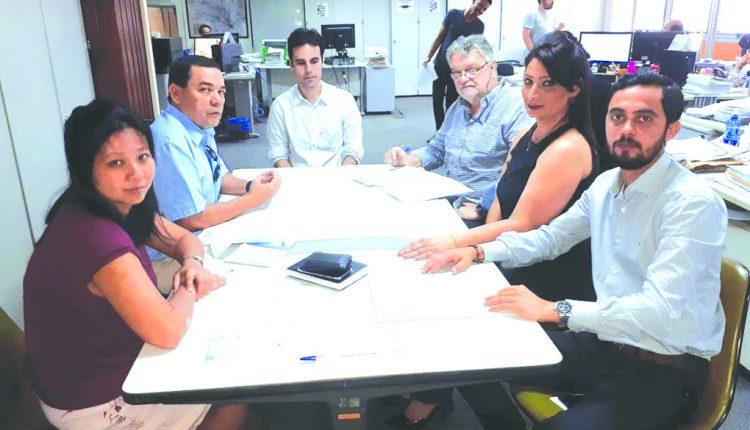 reunião SPU e Itesp